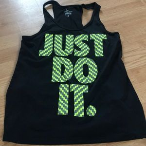 Nike Women's athletic tank top size small